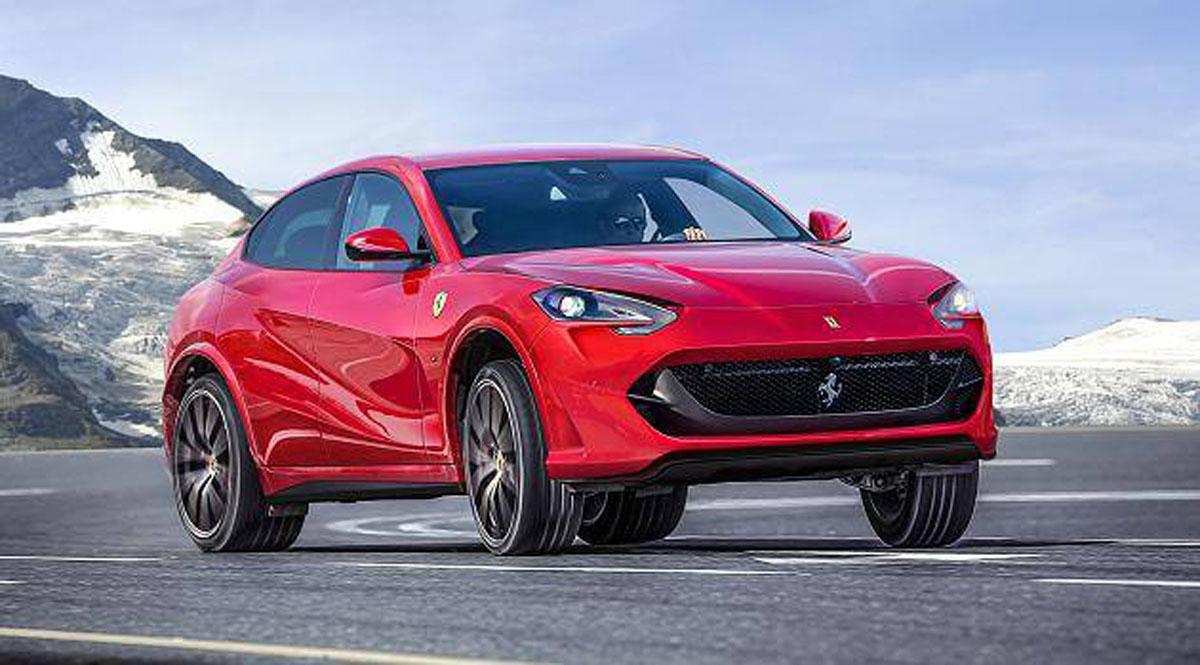 Ferrari Purosangue 首度现身!红马的第一款SUV!