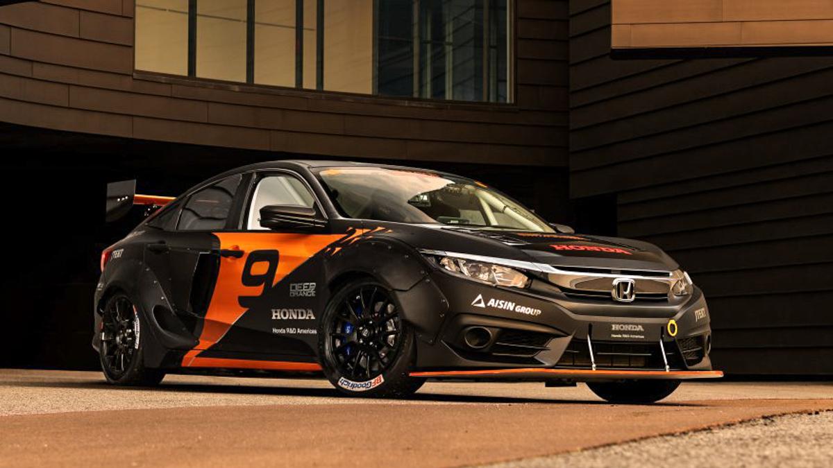 600 hp 的虾面! Honda Civic FC 化身跨界拉力赛车!