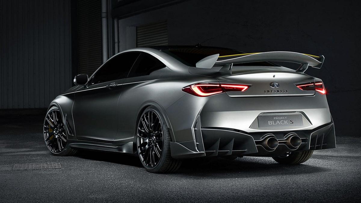 F1 科技加持,Infiniti Q60 Project Black S 巴黎车展亮相!