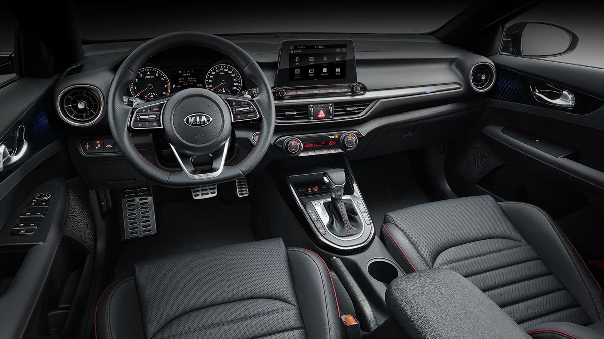 最大马力 204 ps, Kia K3 GT Sedan 正式发表!