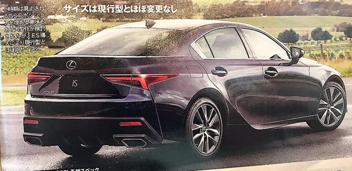 新一代 Lexus IS 长这样?性能版 IS-F 有望复活!