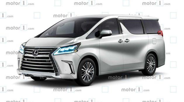 Lexus MPV 长这样?未来豪华MPV抢先预览!