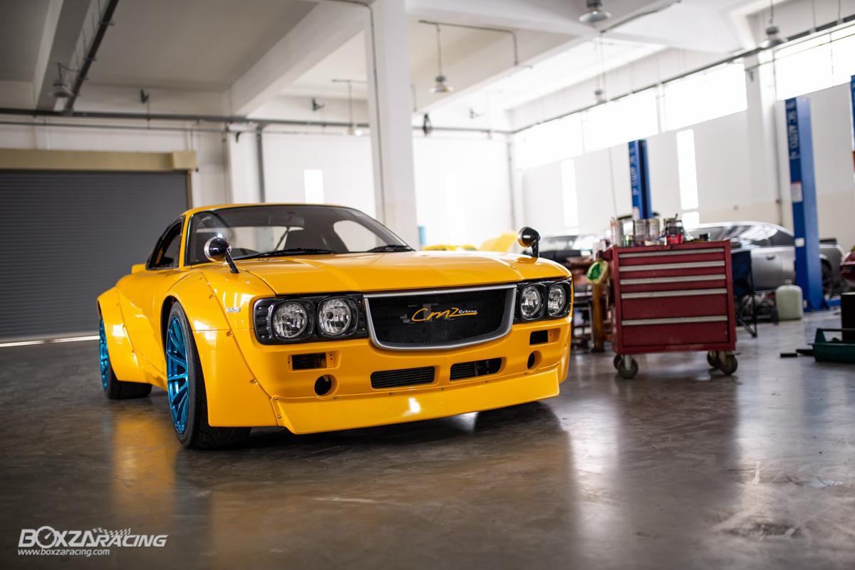 怀旧变脸!你还看得出它是 Mazda RX-7 吗?