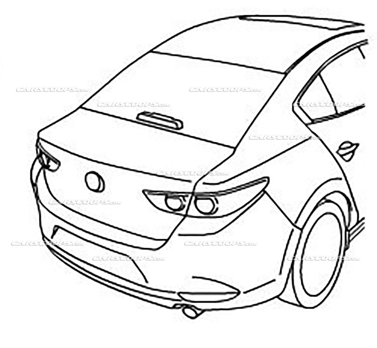 很不一样的内装! 2019 Mazda3 官方插图曝光!