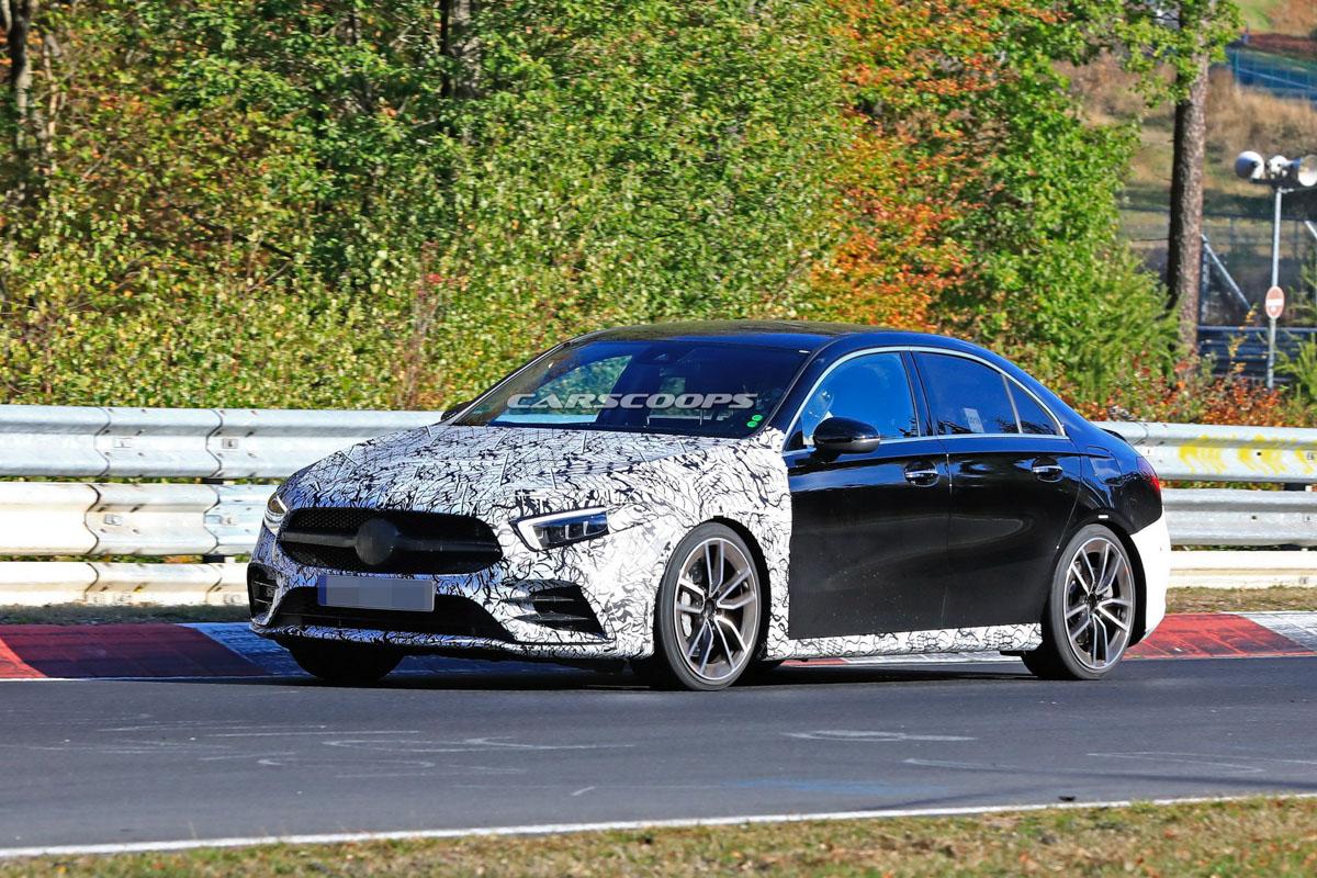 好像很帅气! Mercedes-AMG A35 Sedan 现身测试!