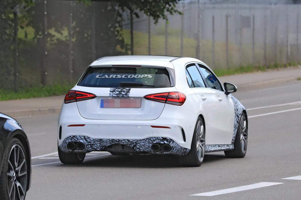 新一代 Mercedes-AMG A45 规格确认,备有漂移模式!