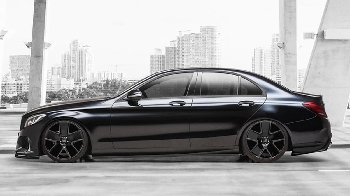 Mercedes-Benz C-Class WALD International ,神秘黑武士!
