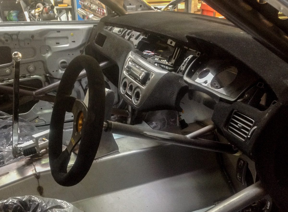 EVO GT-R? Mitsubishi Evolution VIII 改 VR38DETT !