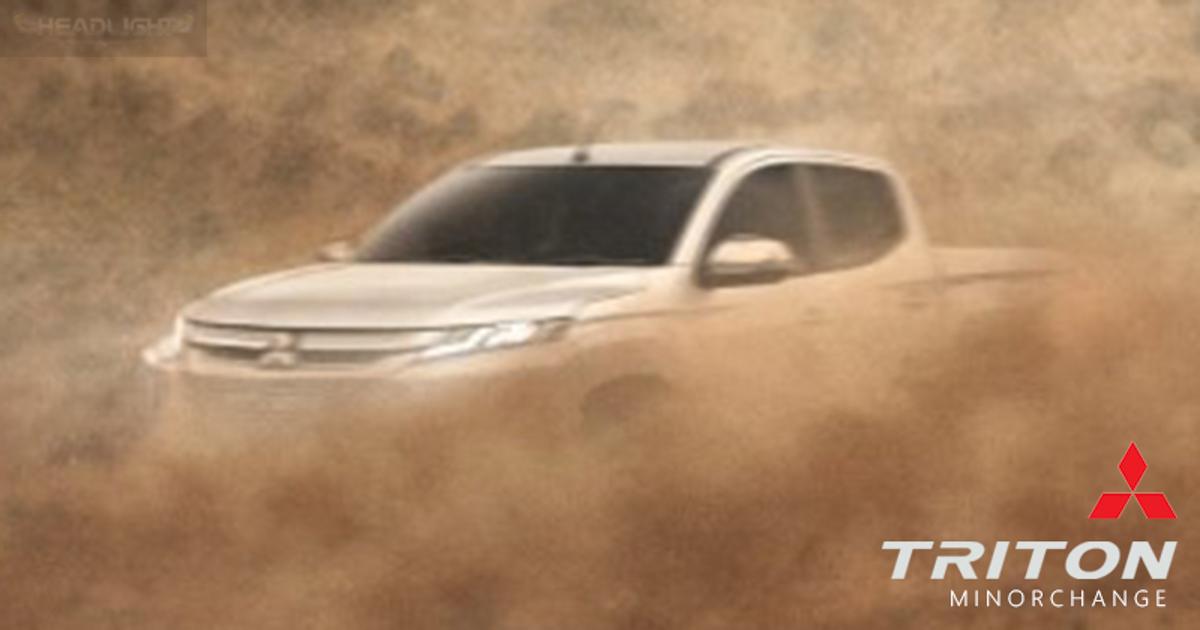 或改搭8速自排, Mitsubishi Triton 下个月东南亚首发!