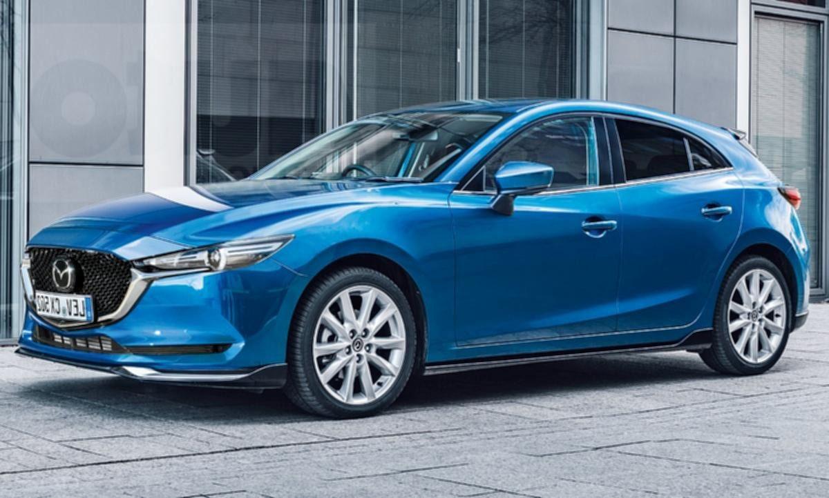2019 Mazda3 量产版现身日本展示厅?
