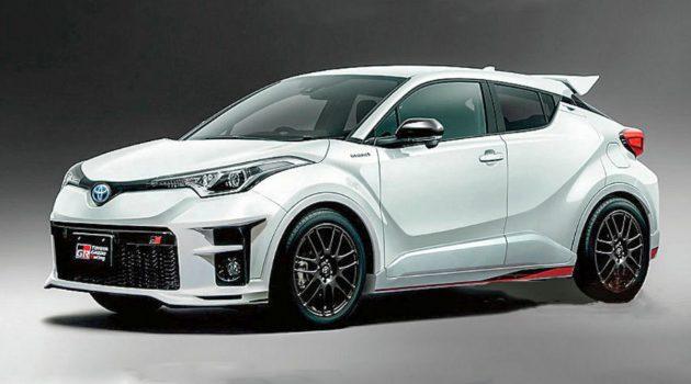 有颜值有实力! 200 hp Toyota C-HR GR 明年3月登场!