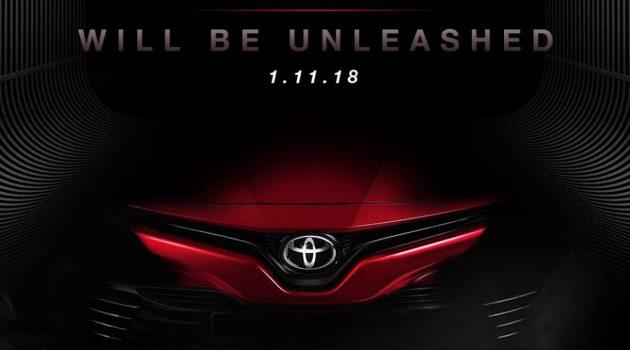Toyota Camry XV70 要来了!11月1日我国发表!
