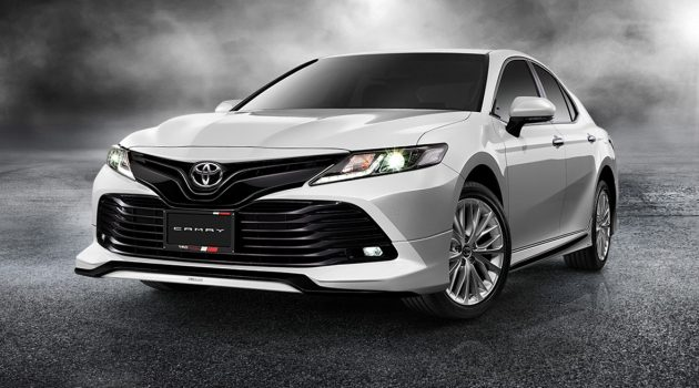 Toyota Camry 2018 推出 TRD Sportivo 空力套件!