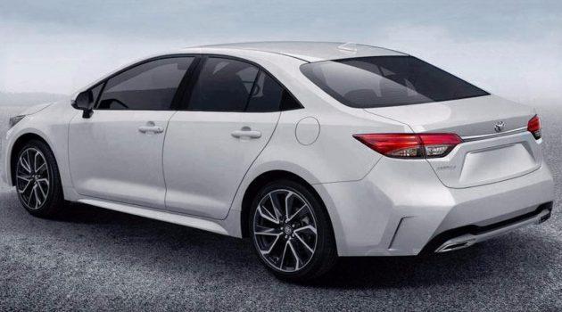 发表前夕外形曝光,2019 Toyota Corolla Sedan 长这样!