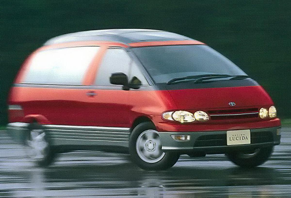 50:50 配重的面包车, Toyota Estima XR10 !