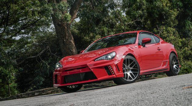 Toyota GT86 Supercharge ,马力超过250 ps大关!