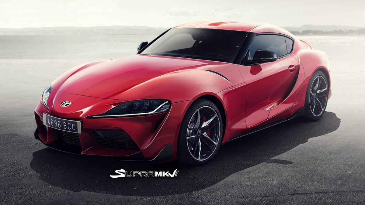 真的长这样? Toyota Supra A90 或巴黎车展发表!