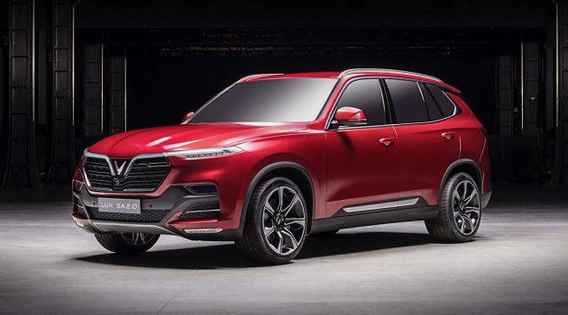 巴黎车展:越南 VinFast 发布旗下 Sedan 与 SUV !