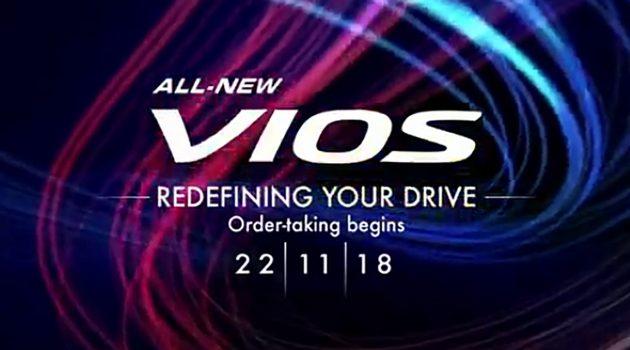 2019 Toyota Vios 即将登场?11月22日正式公开预订!