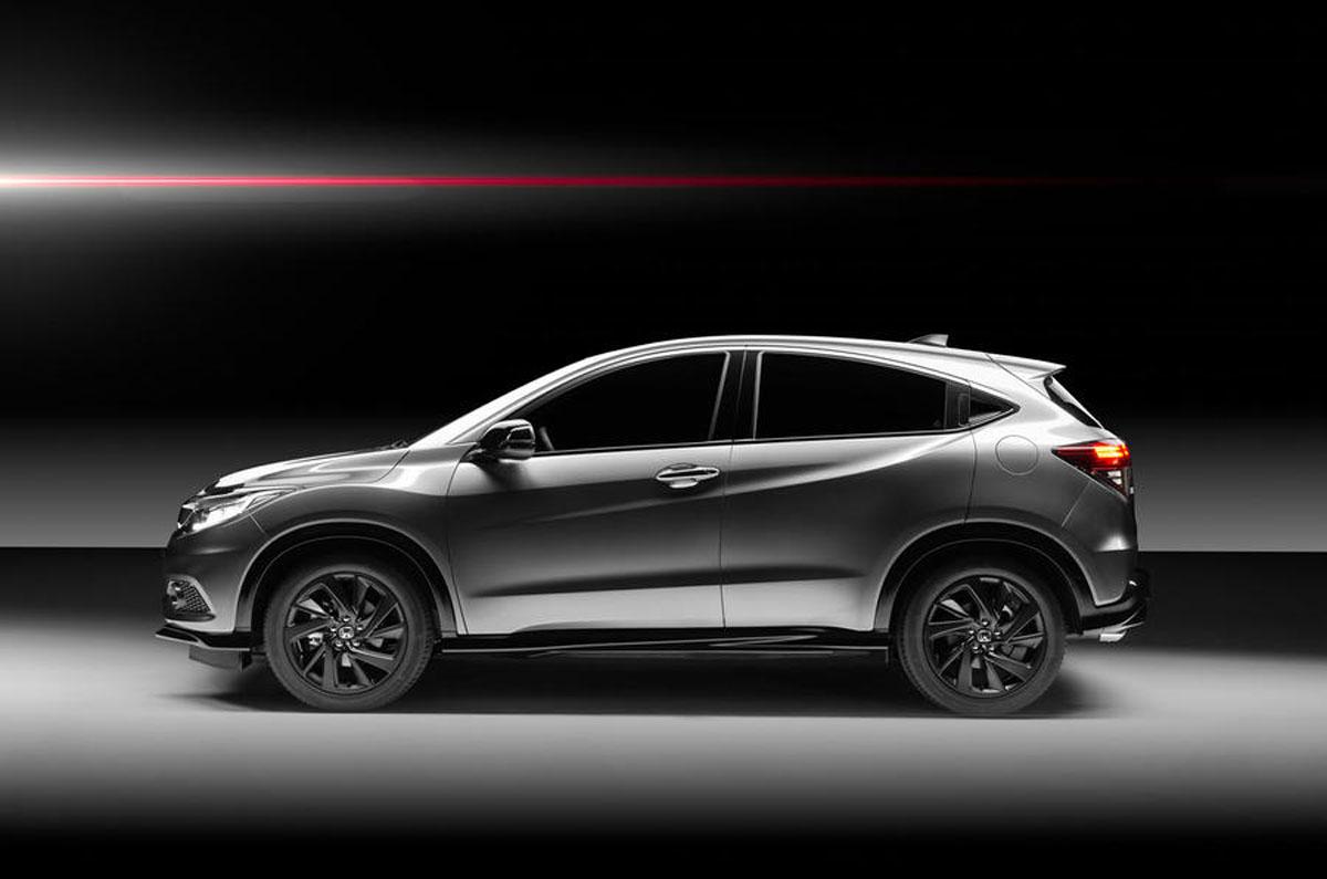 Honda HR-V Sport 欧洲登场,搭载涡轮引擎的黑武士!