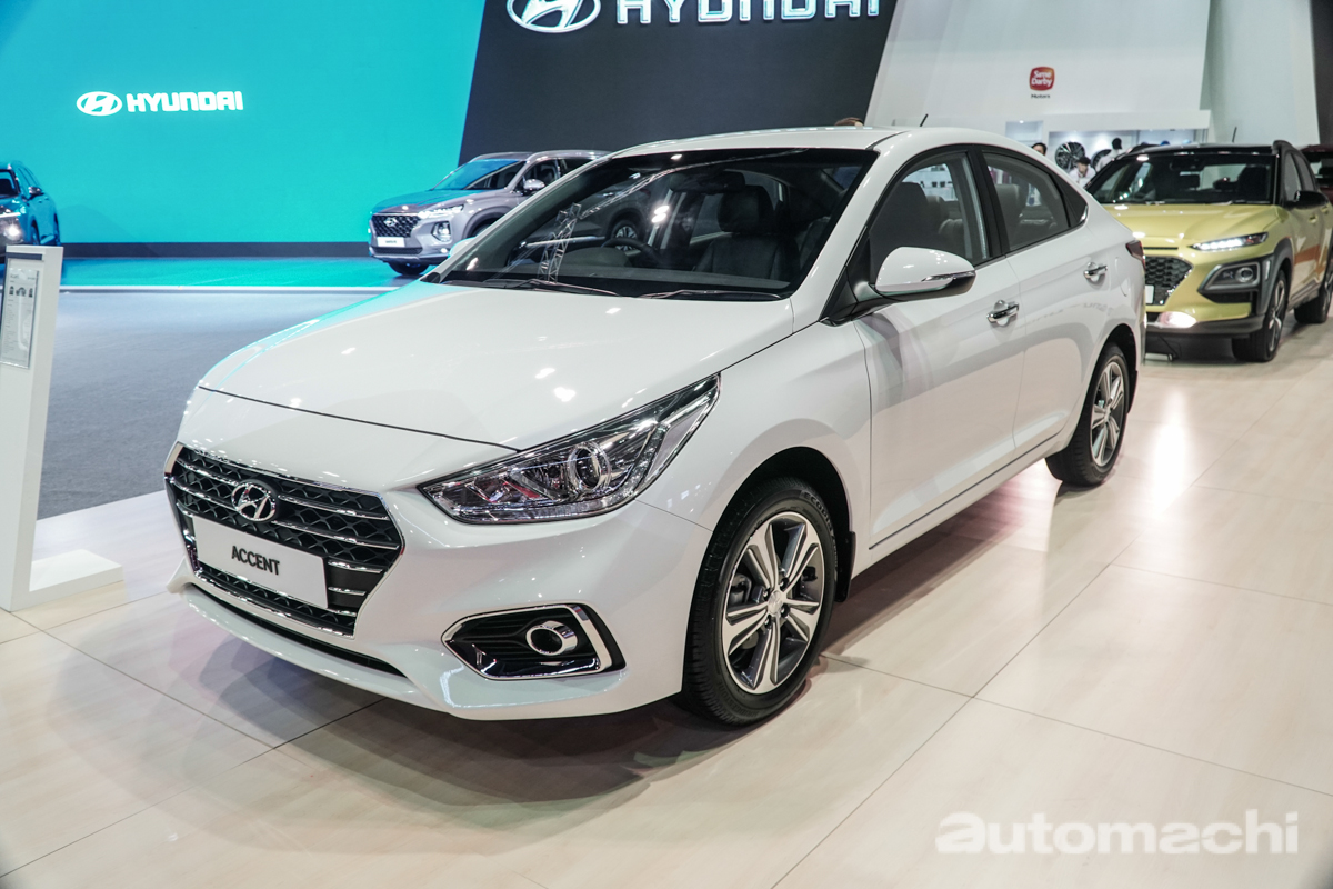 KLIMS 2018 : 2018 Hyundai Accent 现身大马!