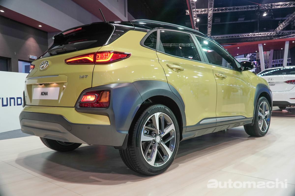 KLIMS 2018 : Hyundai Kona TGDI 登场,明年我国市场开卖?