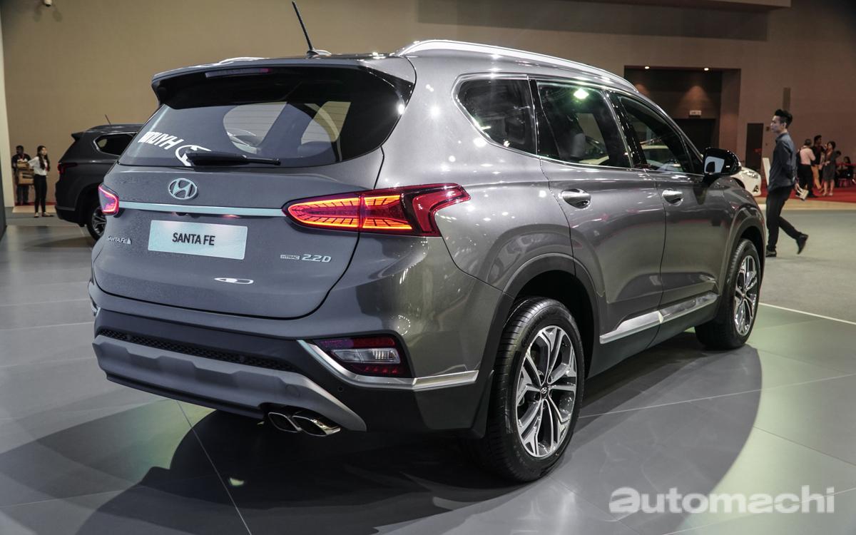 KLIMS 2018 :2019 Hyundai Santa Fe 我国发表,预售价18.8万!
