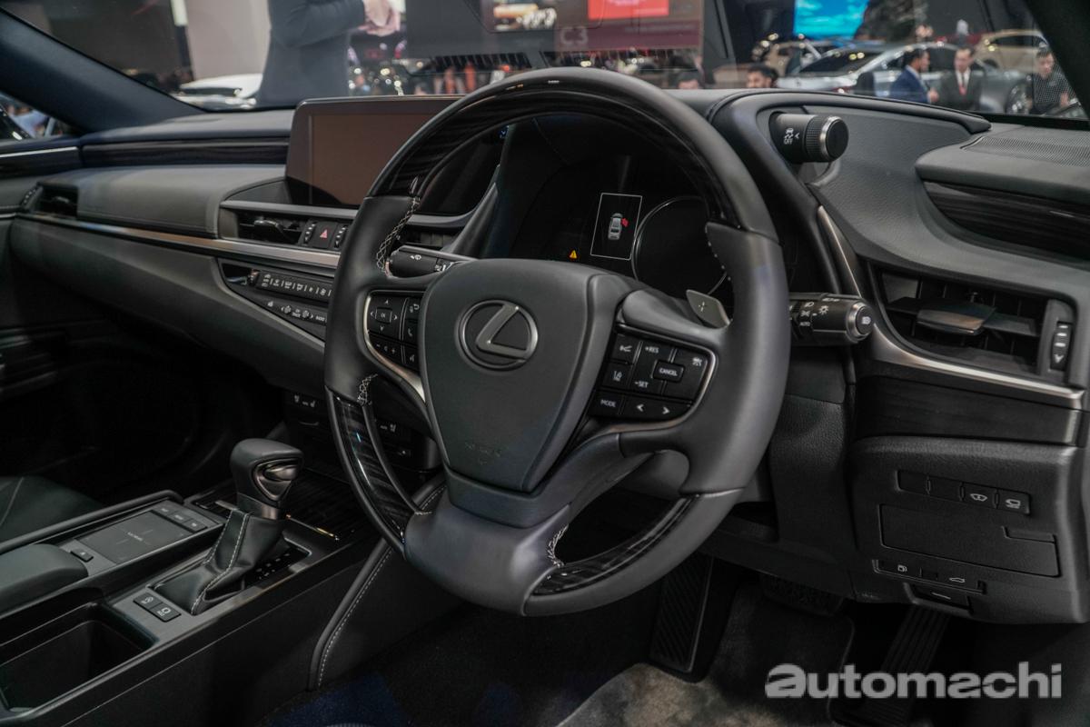 KLIMS 2018 :首度登陆我国, Lexus ES 气势登场!