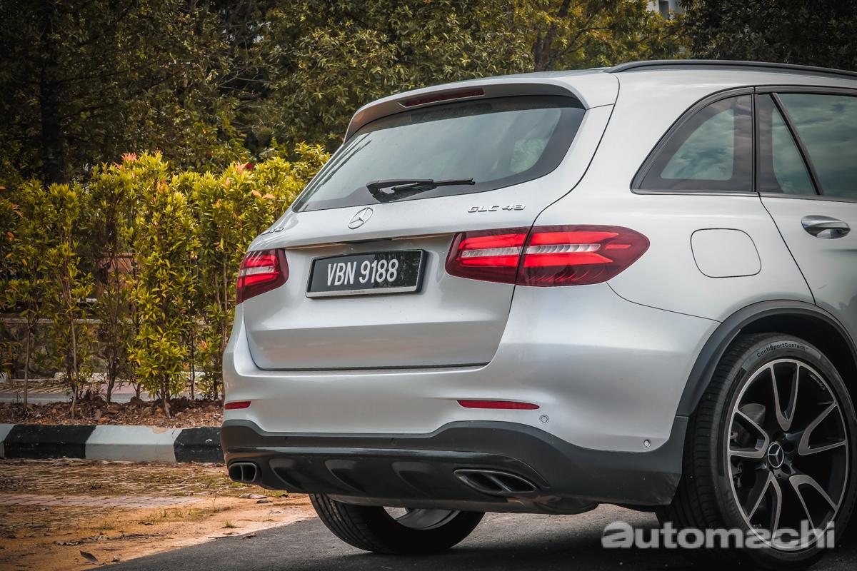 Mercedes-AMG GLC43 ,一款动力很澎湃的SUV!