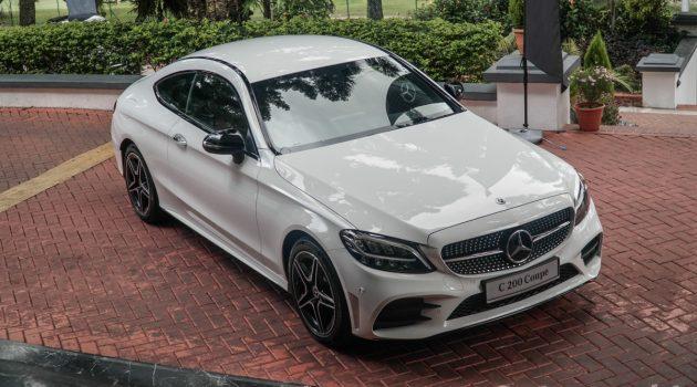2018 Mercedes-Benz C-Class Coupe 帅气登场,售价 RM 346,888 起跳!