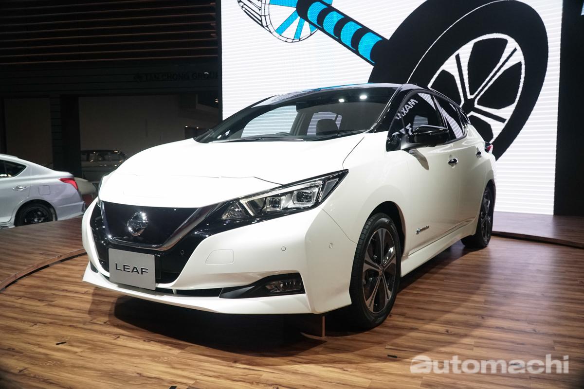 KLIMS 2018 : Nissan Leaf 新世代电动车现身大马!