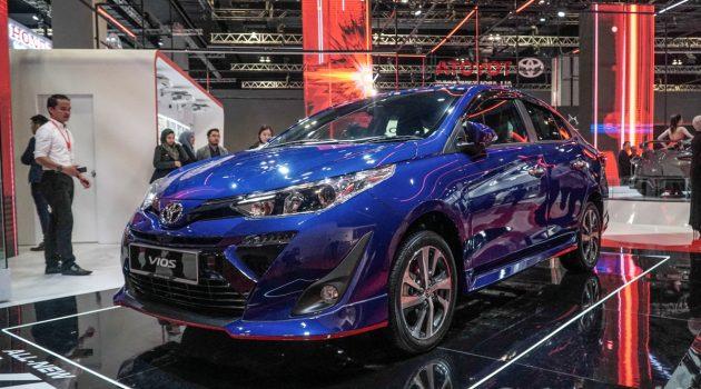 KLIMS 2018 : 2019 Toyota Vios 亮相车展!