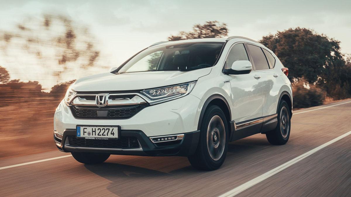 Honda CR-V Hybrid 正式登场,平均油耗18.9 km/L!