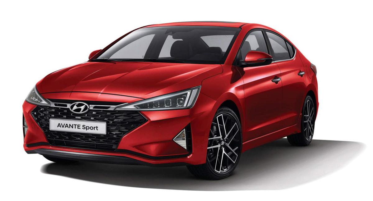 改头换面,2019 Hyundai Elantra Sport 韩国率先登场!