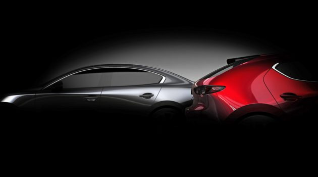 Sedan 一齐现身! 2019 Mazda3 确认洛杉矶车展登场!