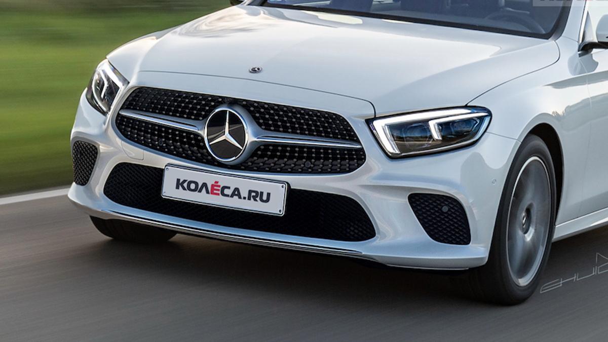 新一代家族脸, 2019 Mercedes-Benz E-Class 长这样?