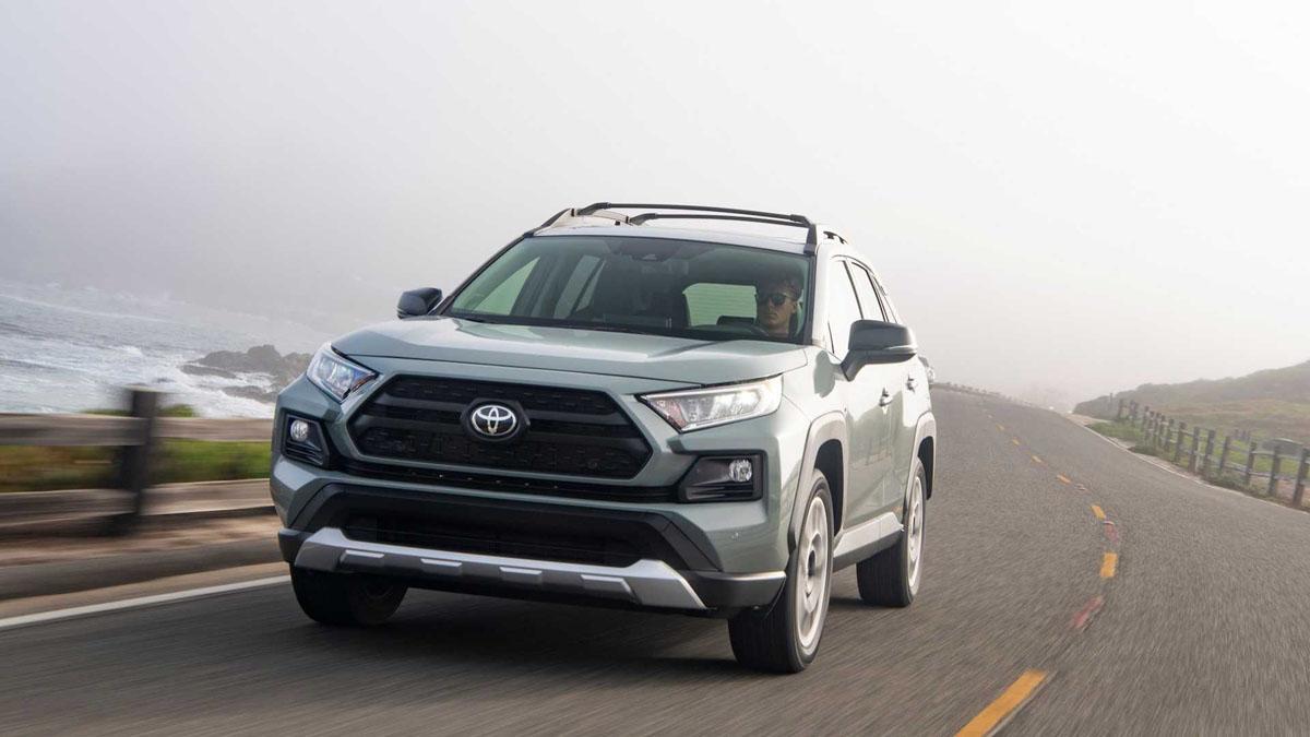 2019 Toyota Rav4 , C-Seg SUV 有力的竞争者!