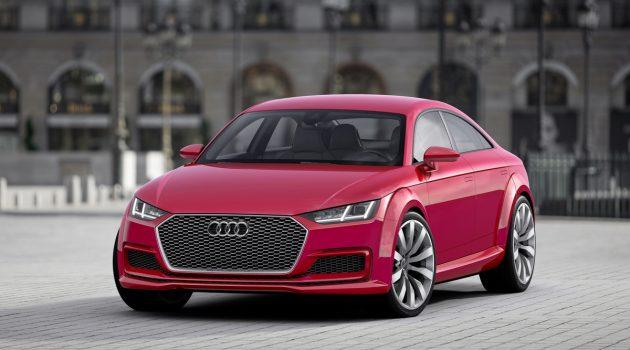 再见双门小跑车!新一代 Audi TT 或变身四门 Coupe !