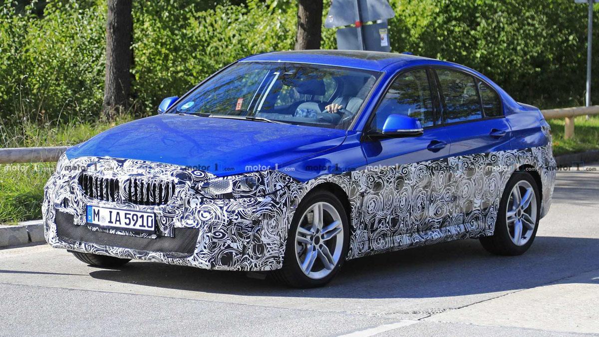 BMW 1 Series Sedan 现身测试,即将迎战 A-Class Sedan ?