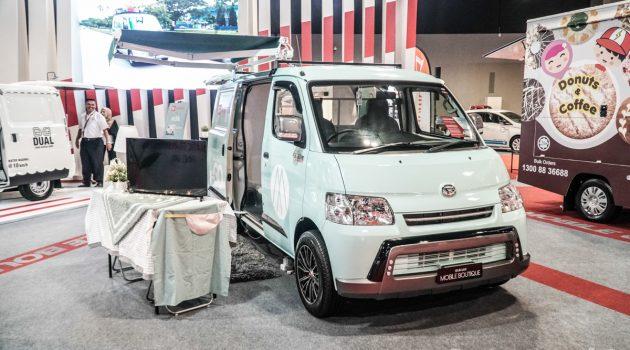 KLIMS 2018 : Daihatsu Gran Max 自排版亮相车展!
