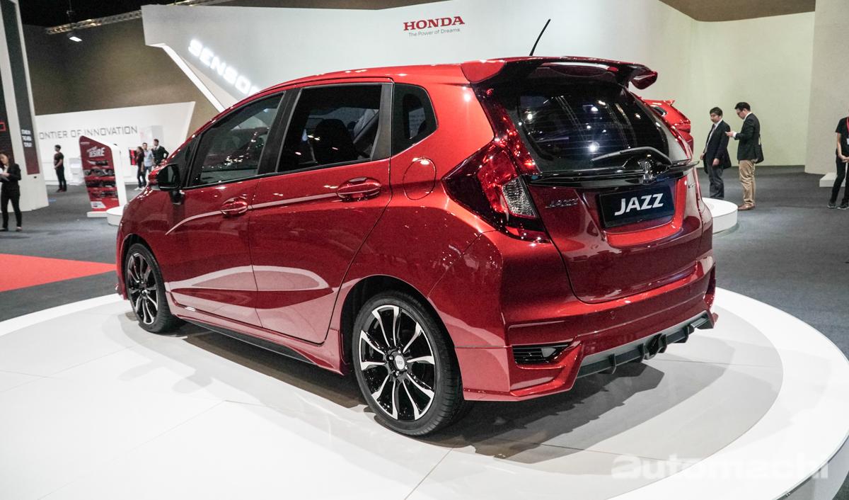 KLIM 2018 : Honda CR-V / Jazz 加装 MUGEN 套件帅气登场!