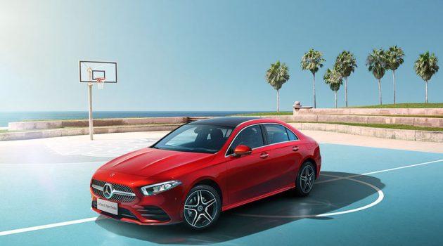 Mercedes-Benz A Class Sedan L 中国上市,售价从RM 131,025起跳!