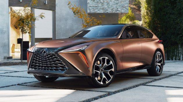 挑战 Lamborghini Urus , Lexus 旗舰高性能 SUV 后年亮相!