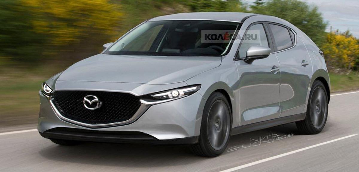 卸下伪装, 2019 Mazda3 真面目长这样?