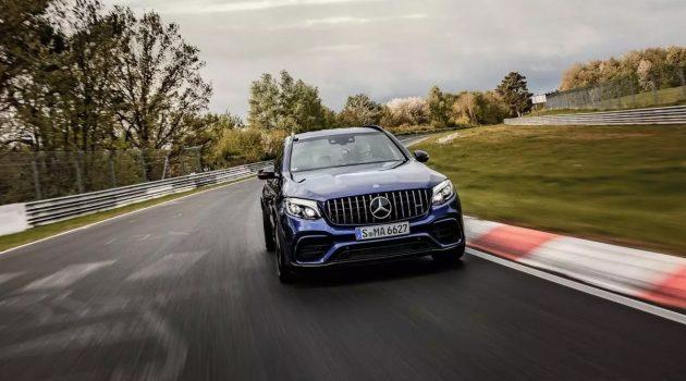Mercedes-AMG GLC 63 S 夺下纽柏林最速 SUV 称号!