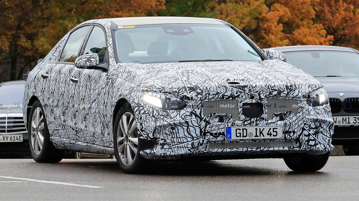 新一代 Mercedes-Benz C-Class 首度现身测试!