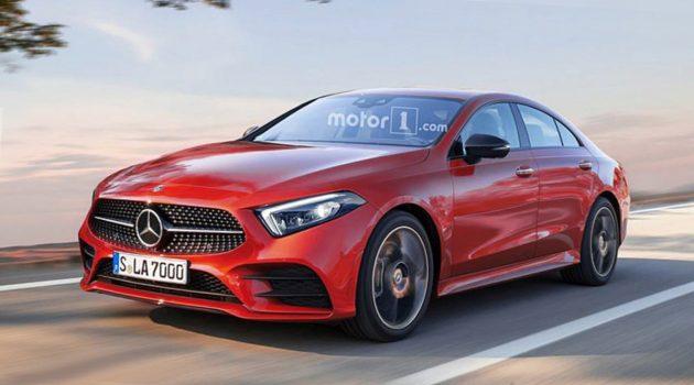 Mercedes-Benz CLA 实车现身,卸下更多伪装!