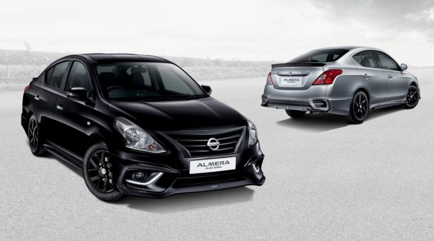 Nissan Almera Black Series 特别版登场,售价 RM 69,800 起跳!
