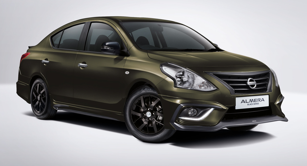 TOMEI 打造, Nissan Almera Black Series 特别版登场!