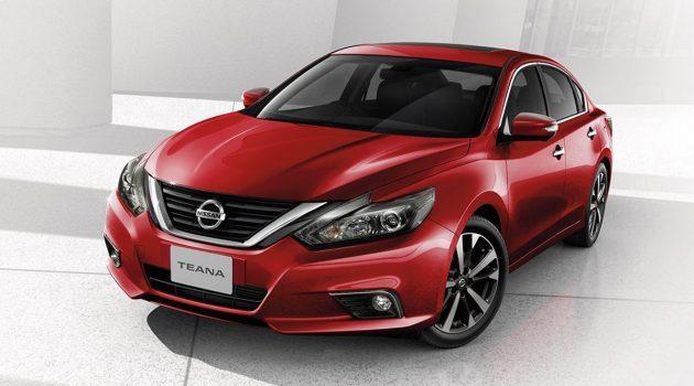 2018 Nissan Teana 泰国正式发表,售价 RM 169,365 起跳!